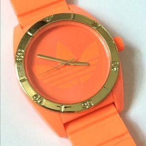 ADIDAS Neon Orange Mens Watch